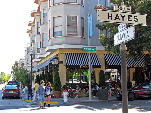 Hayes valley clothing stores